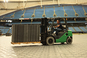 OmniDeck installation at Tropicana Field