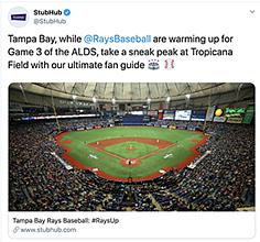 Tampa Bay Rays at Tropicana Field