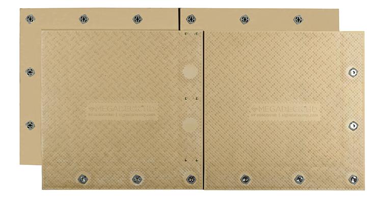 MegaDeck HD composite mats