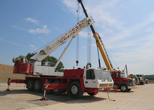 T&D heavy equipment support